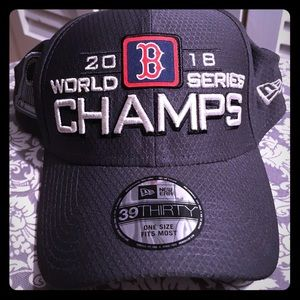 Boston Red Sox Locker Room 2018 World Series hat